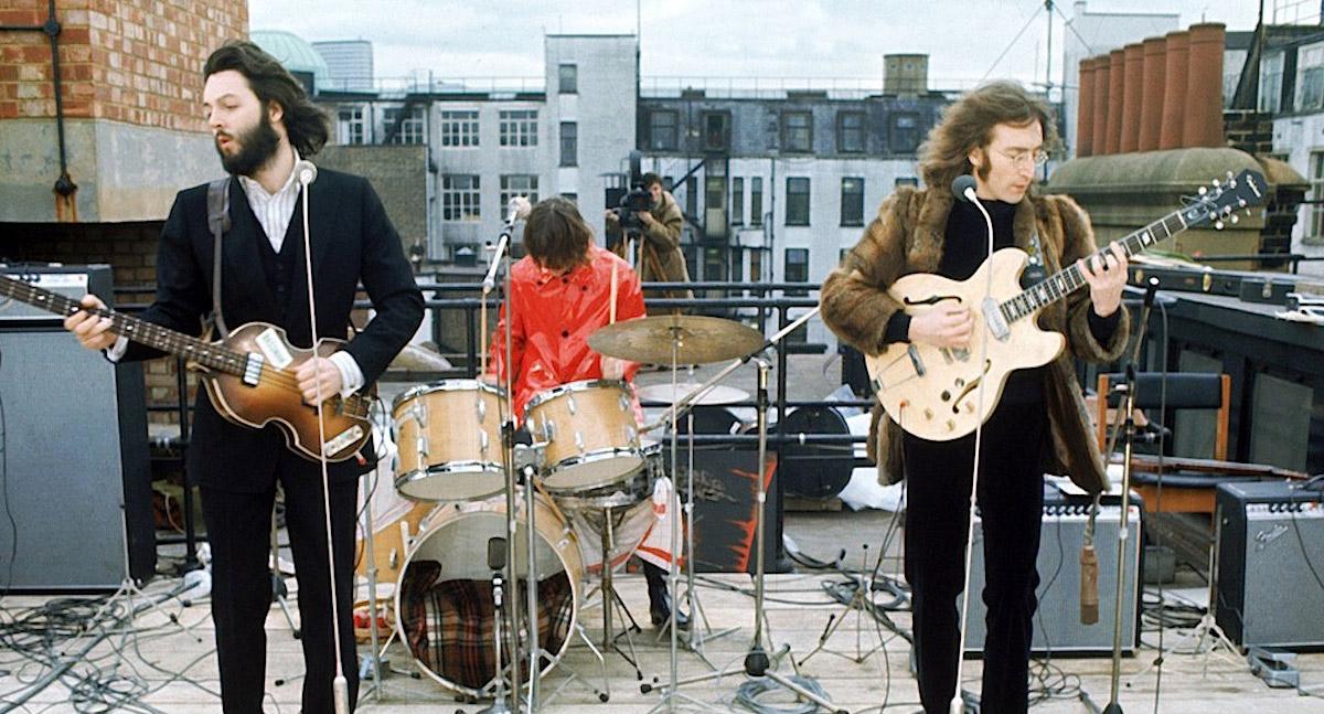 Conciertos que convirtieron a UK en lugar mitológico: The Beatles en el tejado