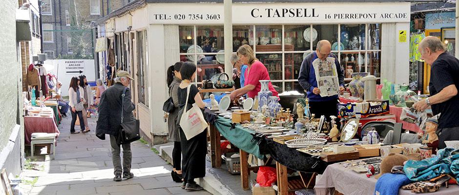 Camden Passage Market