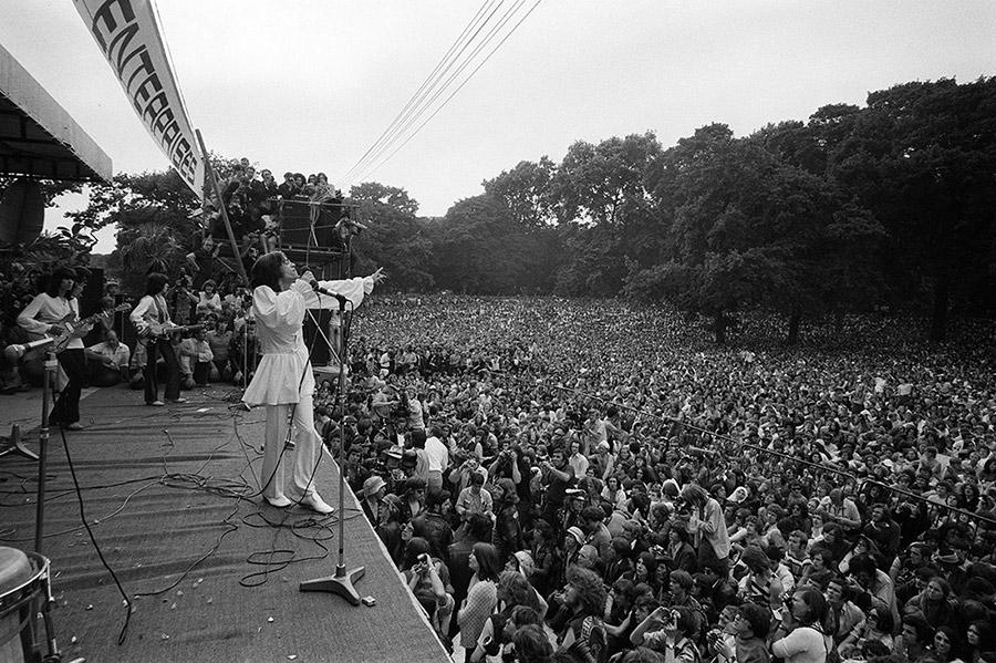 Conciertos que convirtieron UK en lugar mitológico: The Rolling Stones en Hyde Park