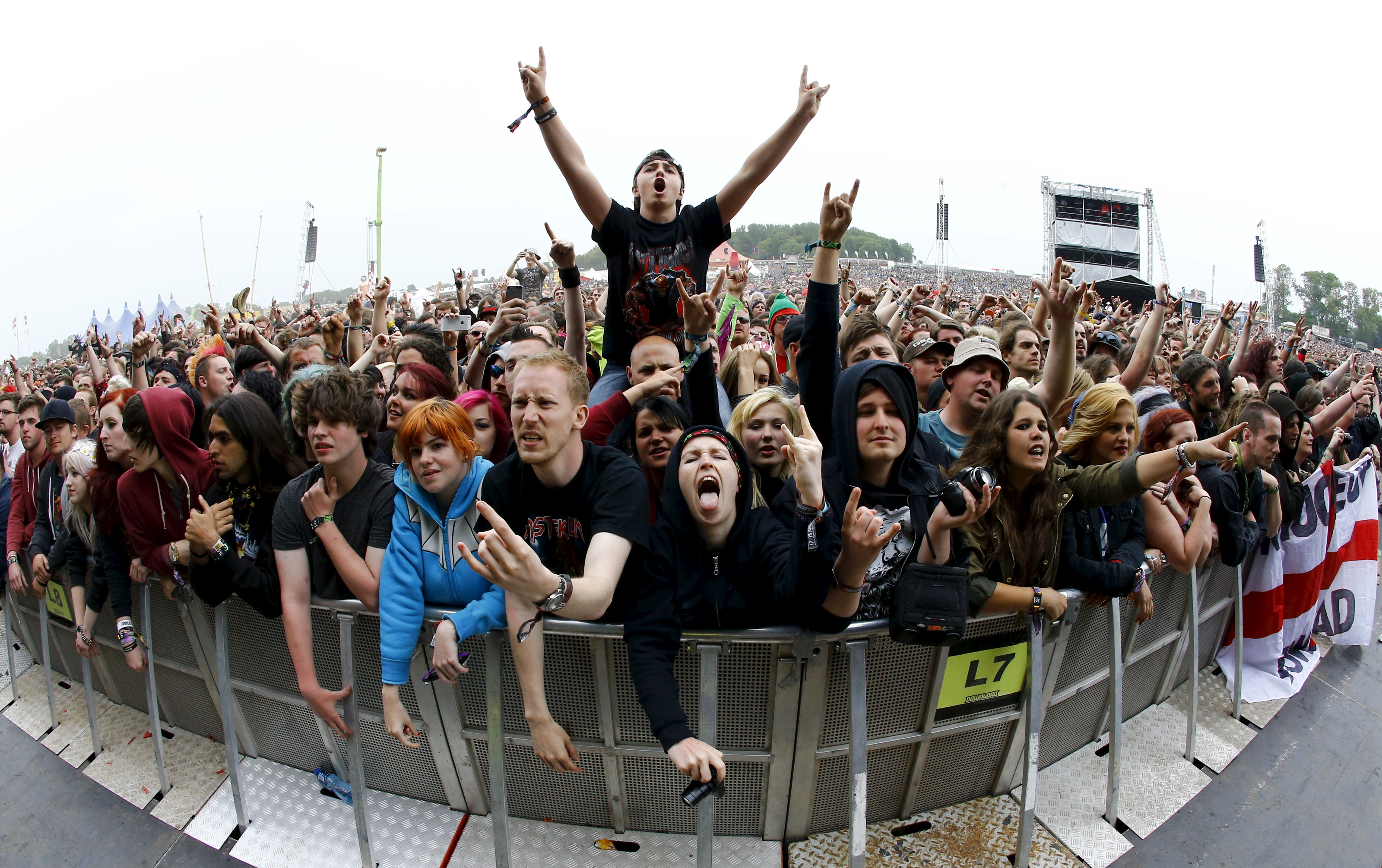 El público del Download Festival de Donington por Darren Staples © Darren Staples/ Reuters