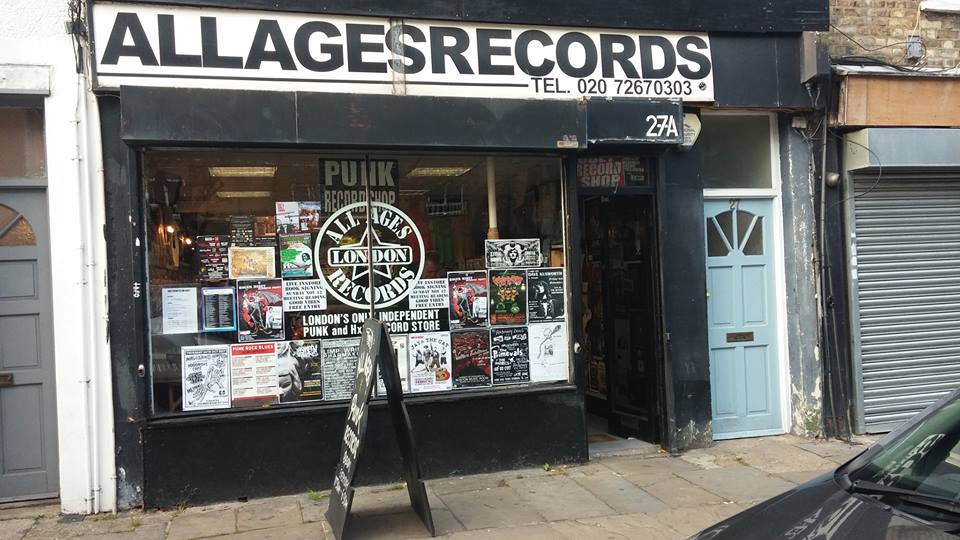 All Ages (Camden) / Punk, hardcore, fanzines y más