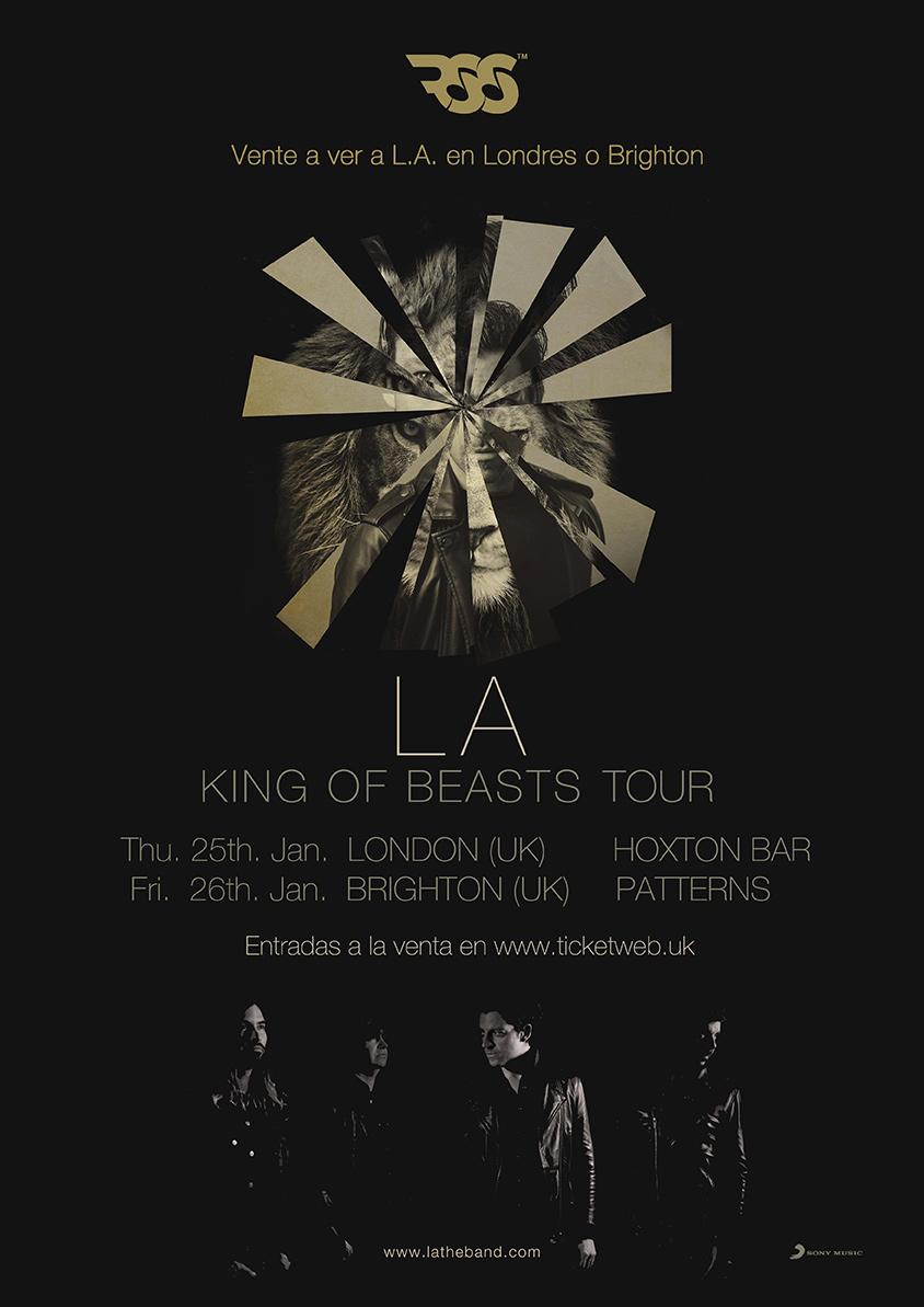 Gana entradas para ver a  L.A. en Londres y Brighton