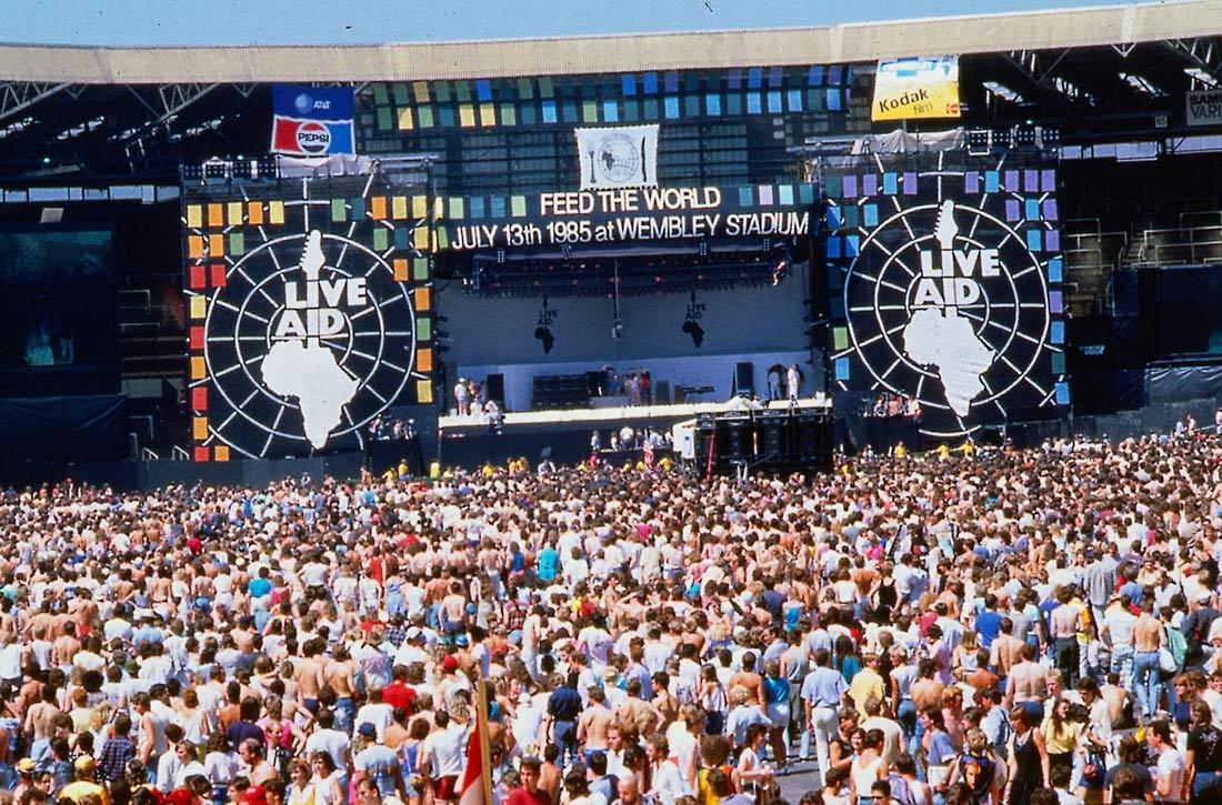 Conciertos que convirtieron UK en lugar mitológico: Live Aid 1985