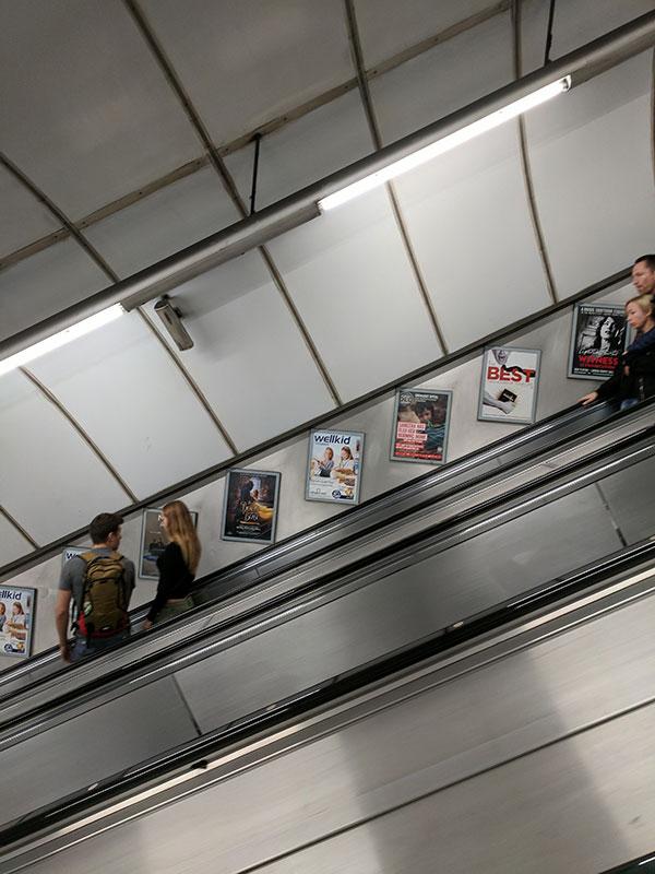 Una imagen del London Tube