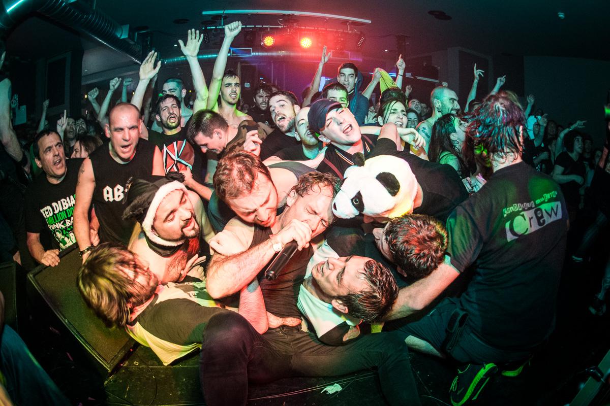 Pogos, osos pandas y aquelarre punk en Londres