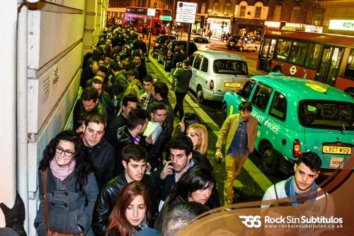 Niños Mutantes en Londres 27 de Abril 2013