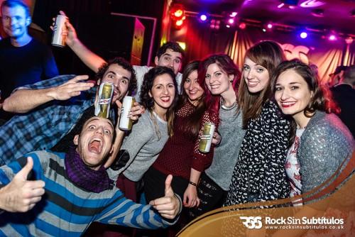 M Clan en Londres 29 de Noviembre 2014