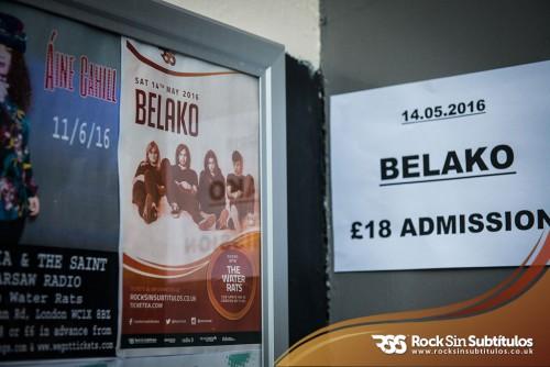 Galería de imágenes de Belako en Londres 14 de Mayo 2016