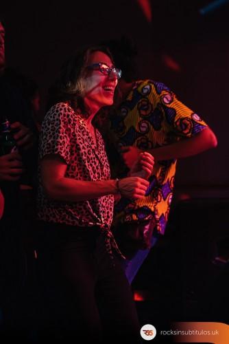 Carmen Boza en Londres 27 de Septiembre 2019