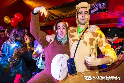 Fancy Dress Party en Londres 24 de Noviembre 2012