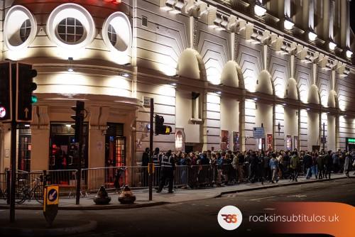 La M.O.D.A. en Londres 24 de Noviembre 2018