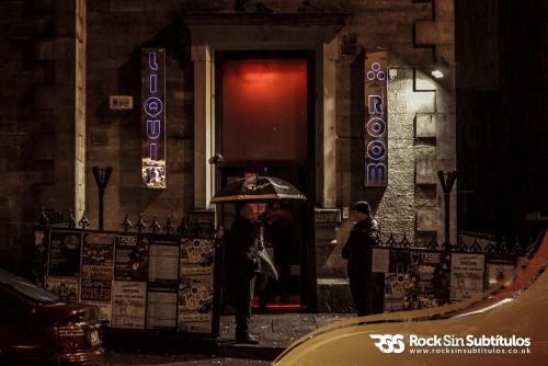 Love of Lesbian en Edimburgo 18 de Octubre 2013