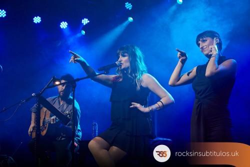 Rozalén en Londres 2 de Noviembre 2019