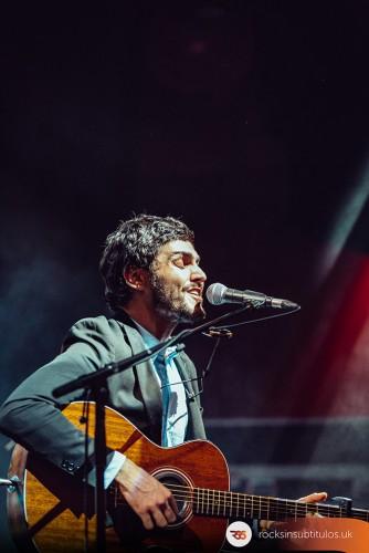 Iván Ferreiro en Londres 27 de Abril 2018