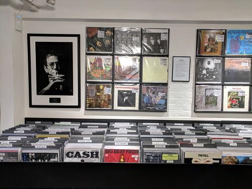 Visitando algunas tiendas de discos en Londres