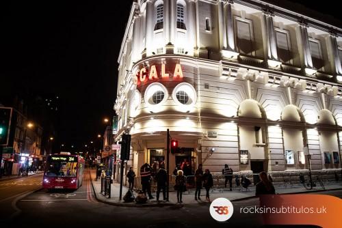 Toteking en Londres 27 de Octubre 2018